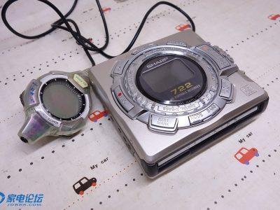 夏普 SHARP MD-MS722 MD随身听
