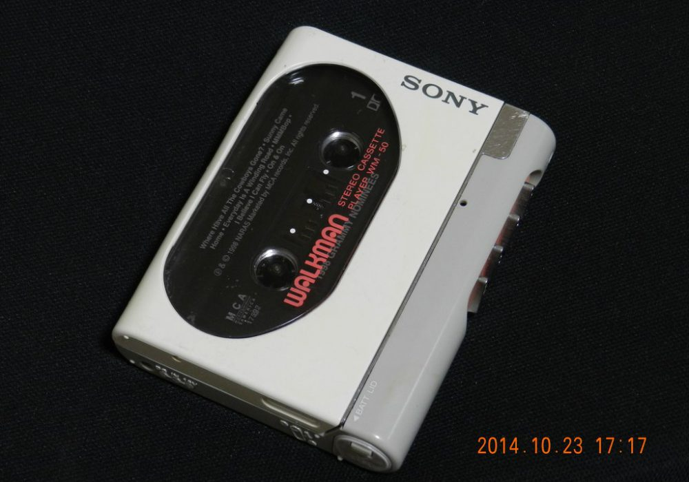 索尼 SONY WM-50 磁带随身听