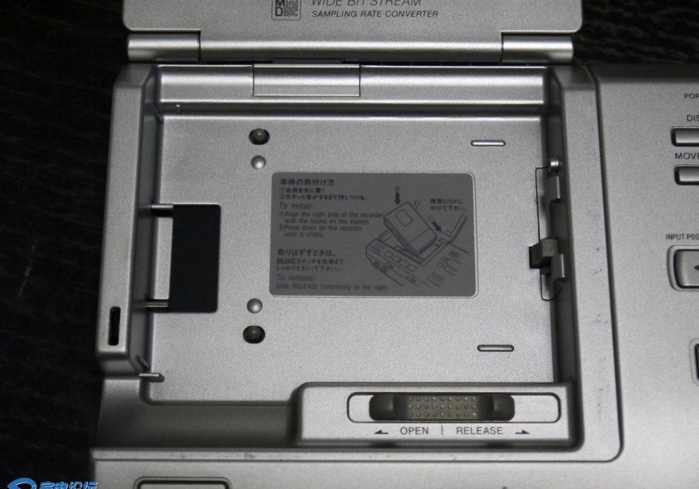 索尼 SONY MZ-R5ST MD随身听+底座