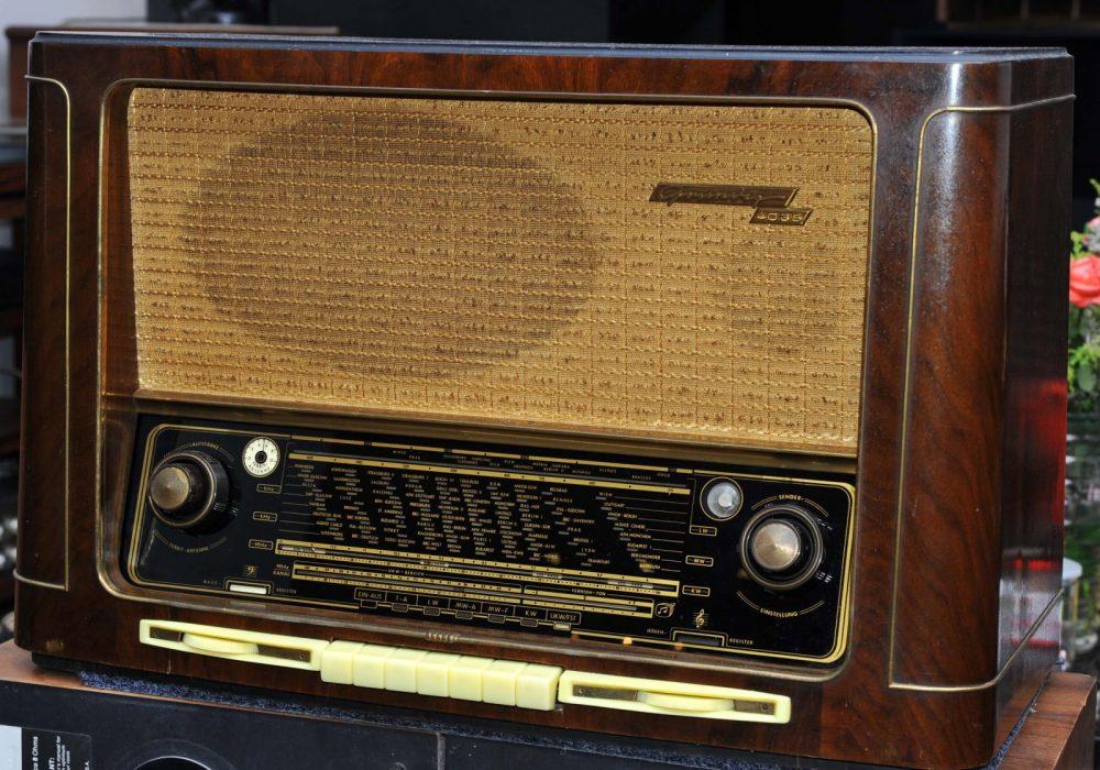 GRUNDIG根德4035FM AM胆收音机一台