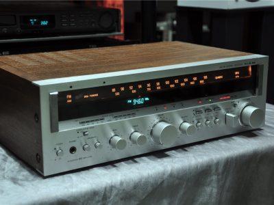 三洋 SANYO PLUS 55 手调 数字度盘双显 收扩机