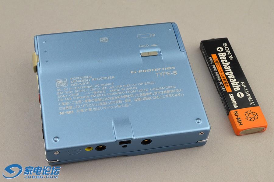 索尼 SONY MZ-N910 MD随身听