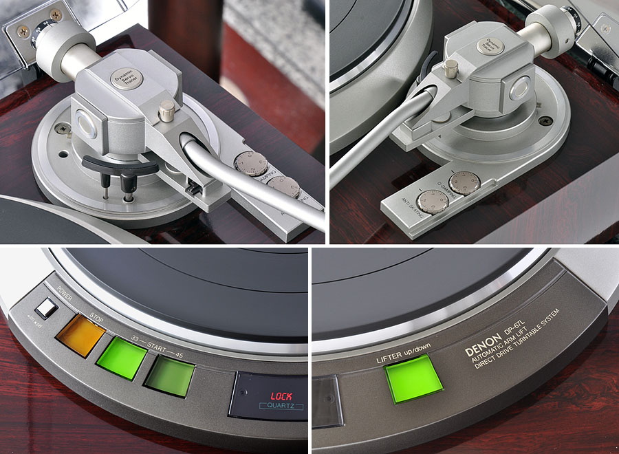 天龙 DENON DP-67L 黑胶唱机