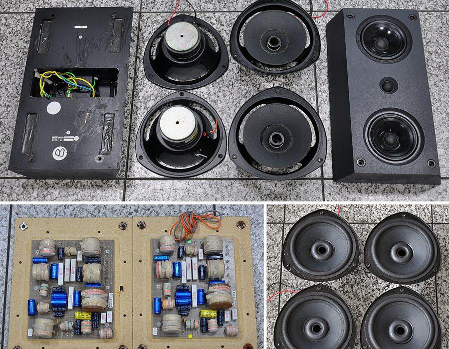 KEF Model 104/2 发烧级落地音箱