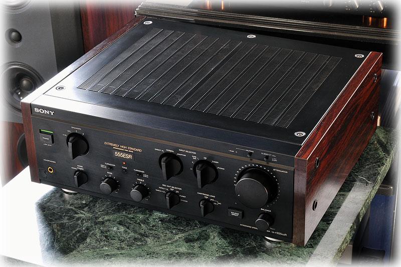 索尼 SONY TA-F555ESR 功率放大器