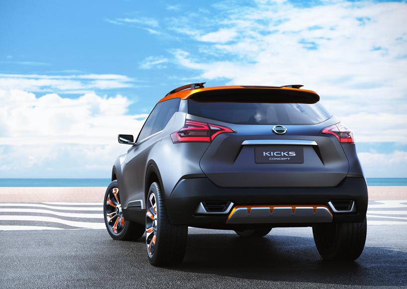 nissan kicks concept unveiled at sao paulo international motor show