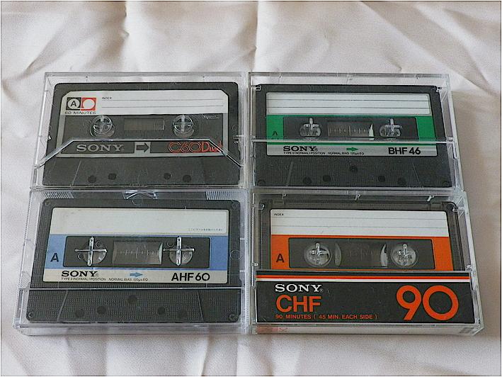 索尼 SONY AHF60 BHF46 CHF90 空白磁带