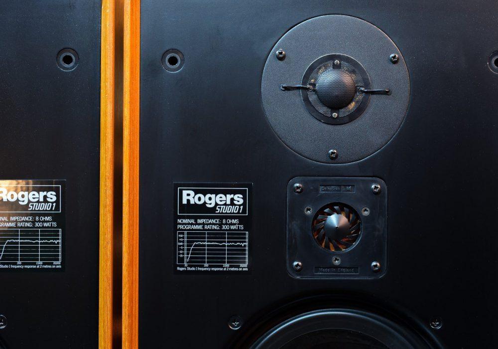 乐爵士 Rogers Studio 1 监听音箱