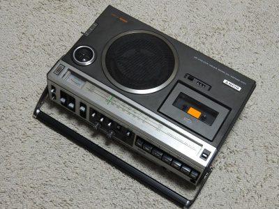 索尼 SONY CF-1980Ⅱ 单卡收录机