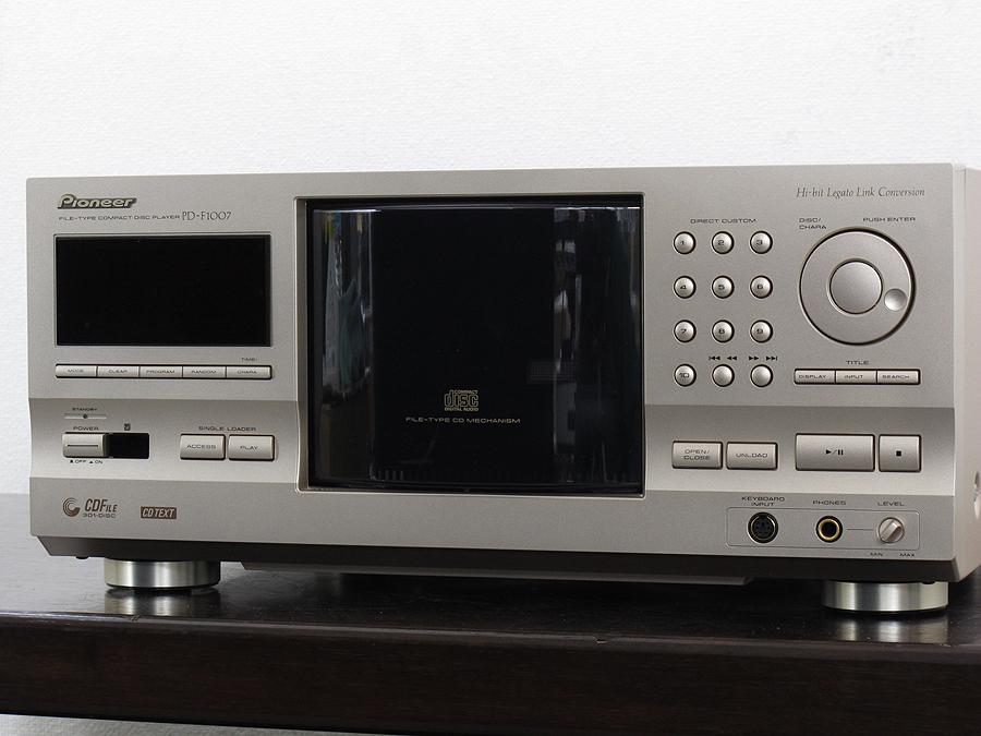 先锋 PIONEER PD-F1007 CD播放机