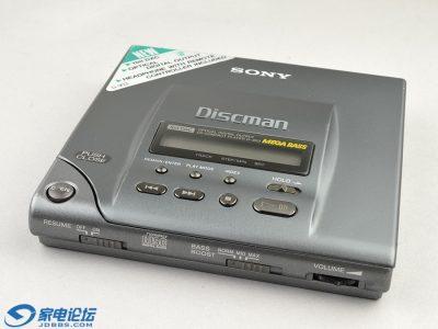 索尼银色 SONY D-303 CD随身听