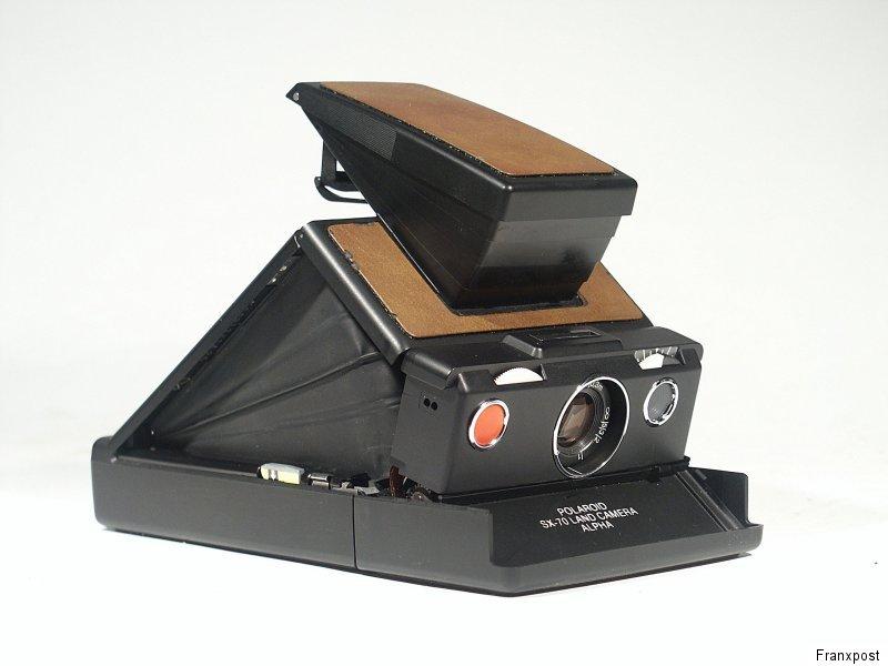 POLAROID SX-70 宝丽来相机