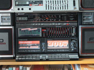 夏普 SHARP WF-939Z 双卡收录机