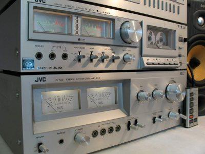 JVC KD-A5 双表头立体声卡座