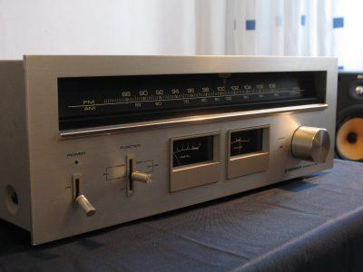 先锋 Pioneer SA-606 双表头收音头+ SA-506 双表头功放