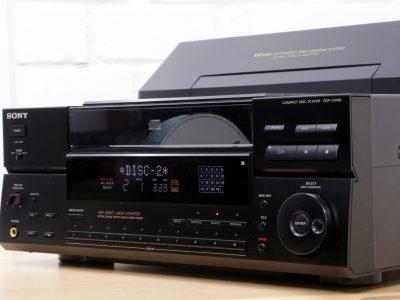 索尼 SONY CDP-CX100 HI-FI 100碟 CD播放机