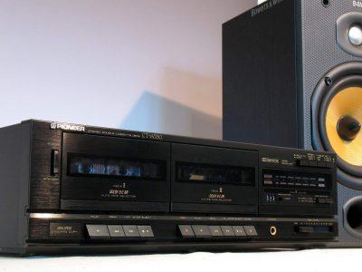 先锋 Pioneer CT-W330 立体声双卡座