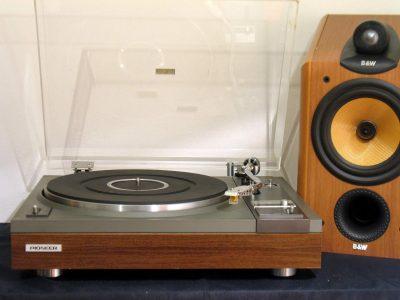 Pioneer PL112 黑胶唱机