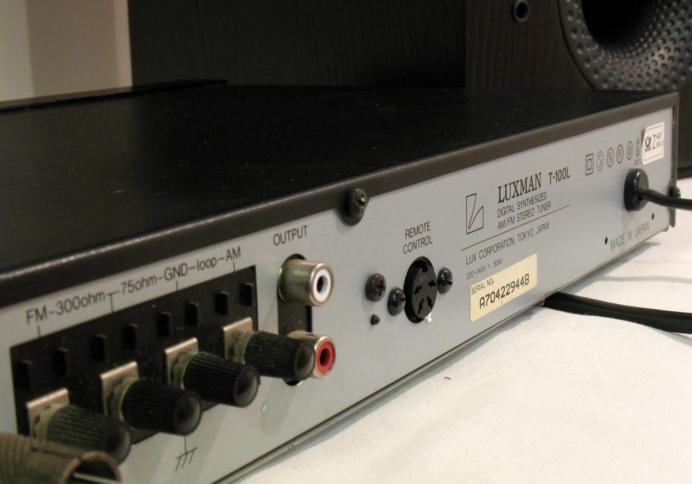 力士 LUXMAN T100 AM/FM 立体声收音头