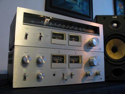 先锋 Pioneer TX-606 双表收音头