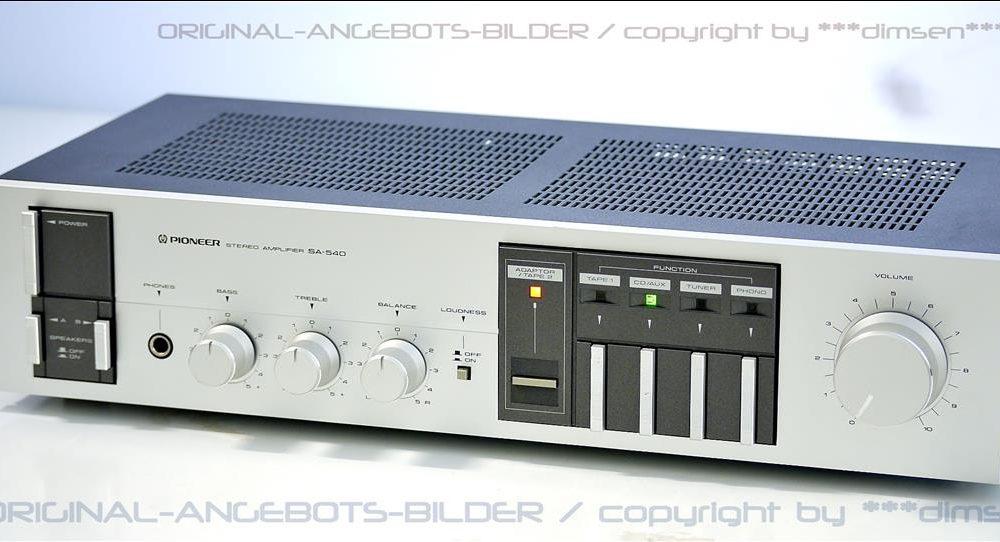 先锋 PIONEER SA-540 功率放大器