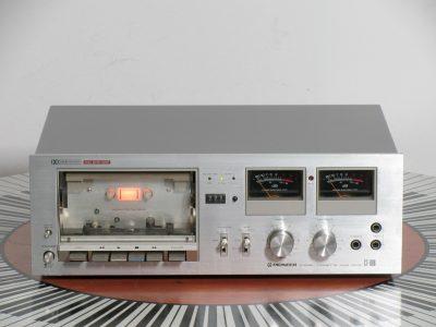 先锋 PIONEER CT-606 双表头古典卡座