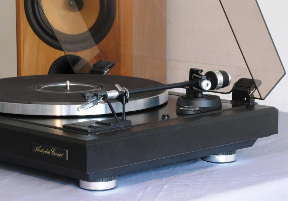 DUAL 505mk4 Audiophile Concpet 黑胶唱机