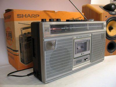 夏普 SHARP GF-6060 收录机