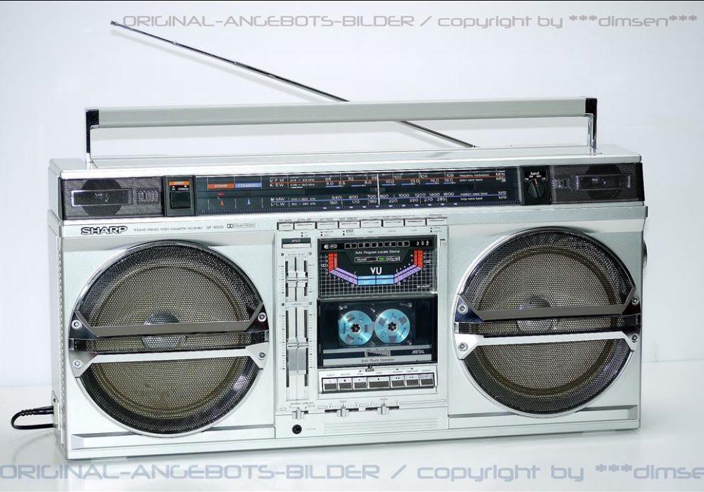 夏普 SHARP GF-9000H 单卡收录机