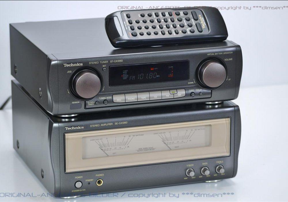 松下 Technics SE-CA1060 功放 + ST-CA1060 收音头 音响组合