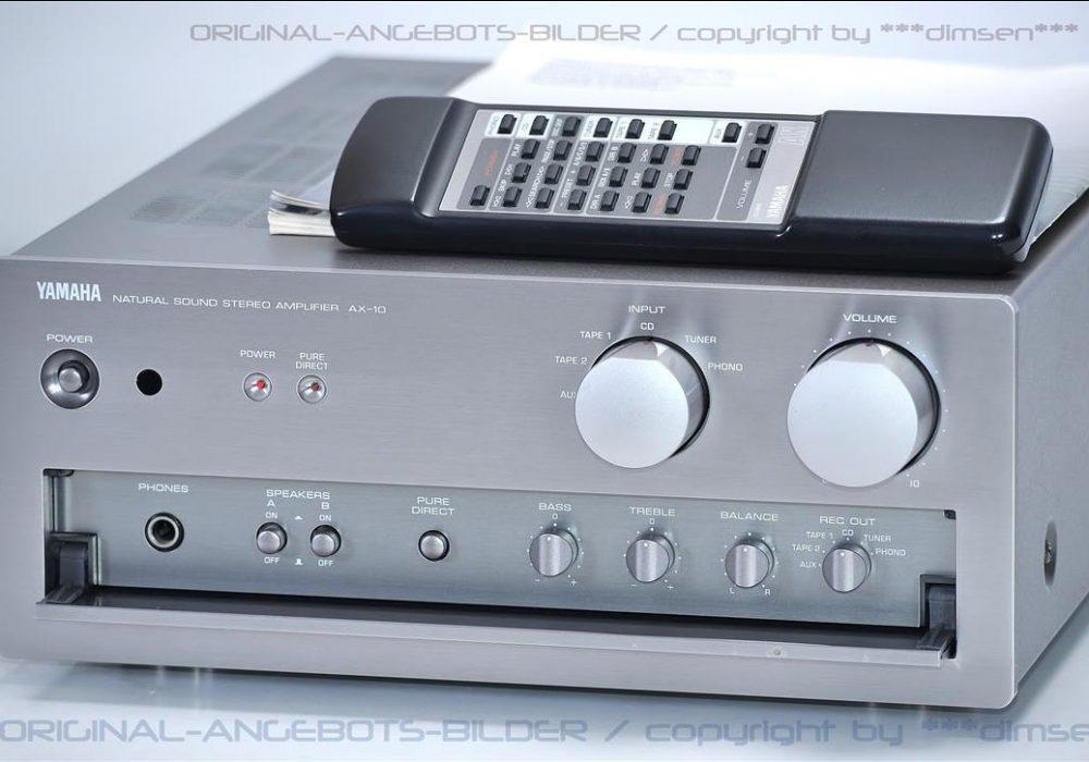 雅马哈 YAMAHA AX-10 功率放大器