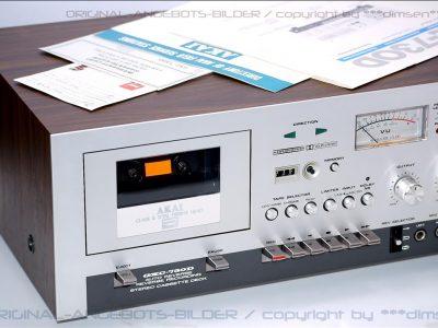 雅佳 AKAI GXC-730D 双表头古典卡座