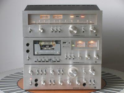 Universum V3297 + CT3298 + T3296 卡座/收音/功放 音响组合