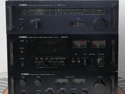 雅马哈 YAMAHA CA-V1 功放 + CT-V1 收音头+ TC-511B卡座