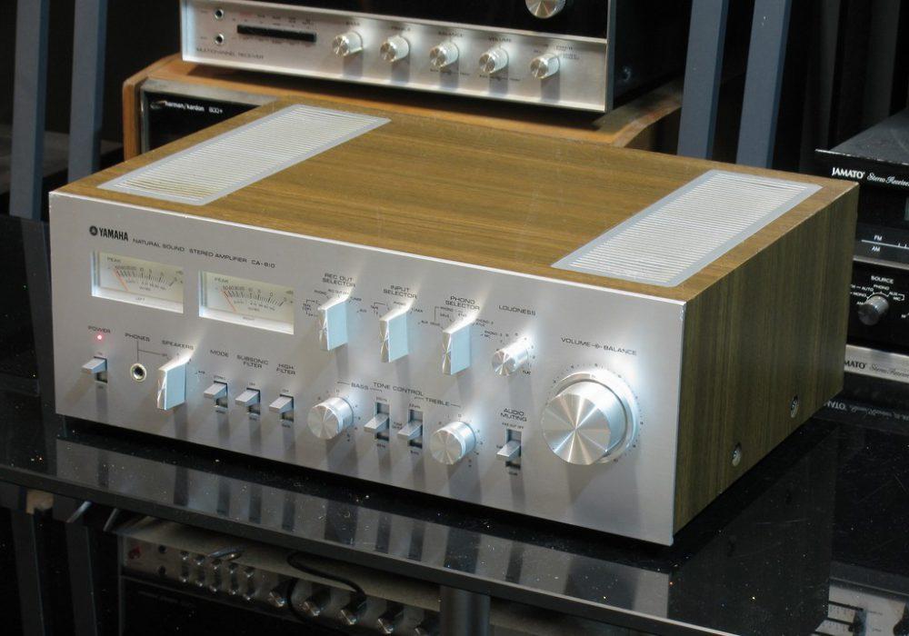 雅马哈 Yamaha CA-810 双表头功放+ CT-810 FM/AM 收音头