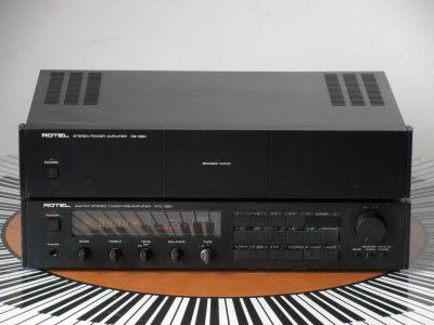ROTEL RB-850 功放 + RTC-850 收音/前级放大器