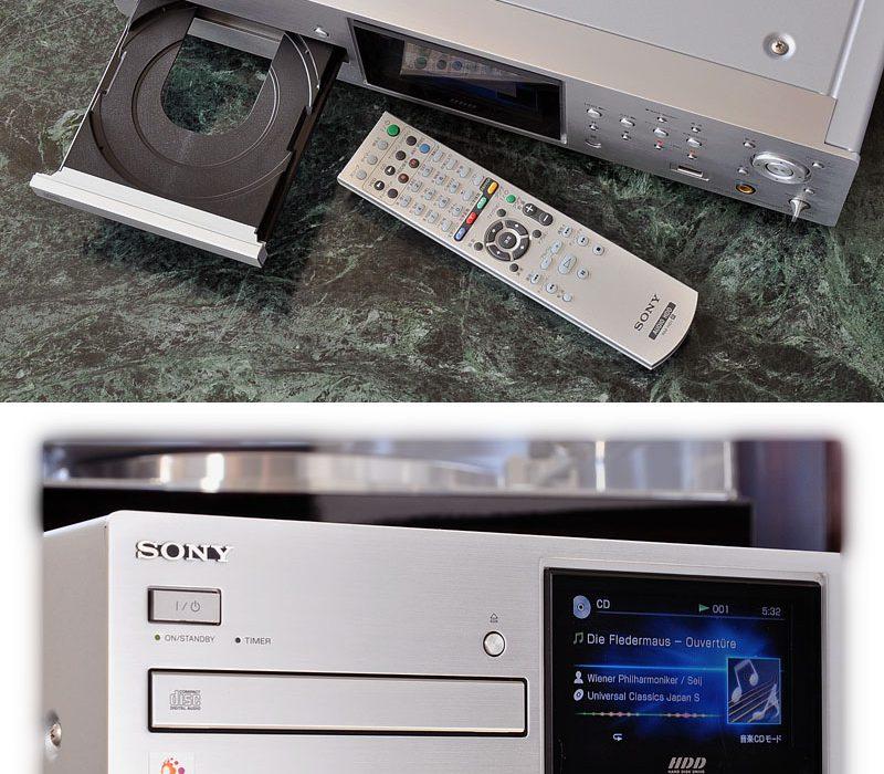 索尼 SONY NAC-HD1 CD/FM/AM/HDD 硬盘播放机