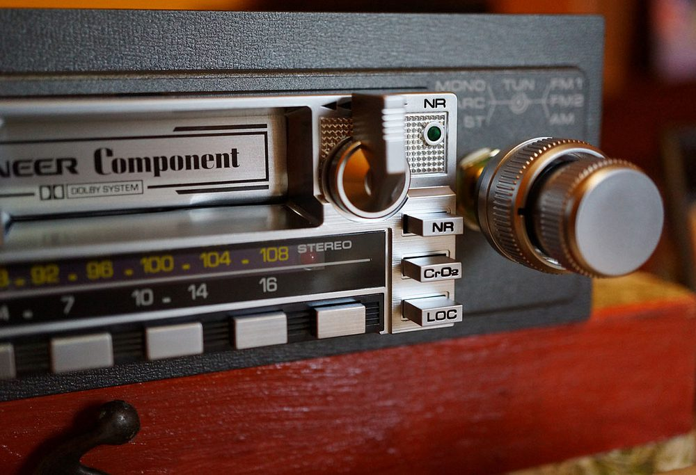 先锋 PIONEER KEX-20 磁带车机