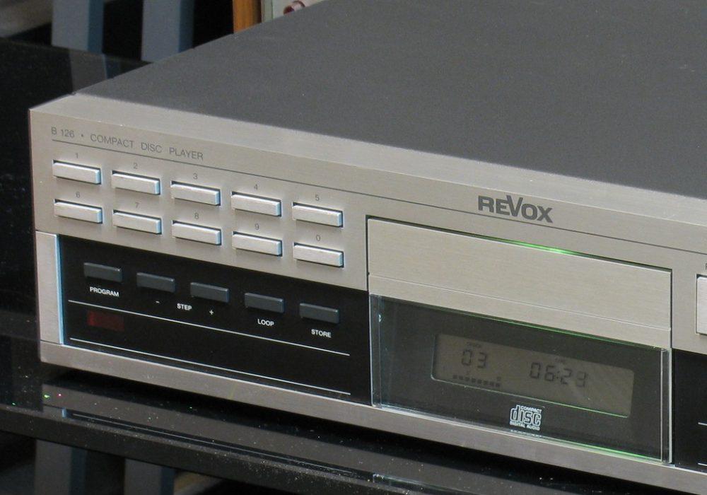Revox B126 专业级CD播放机