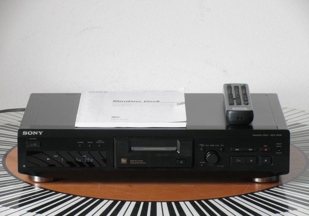 索尼 SONY MDS-JE330 MD播放机 + RM-D29M