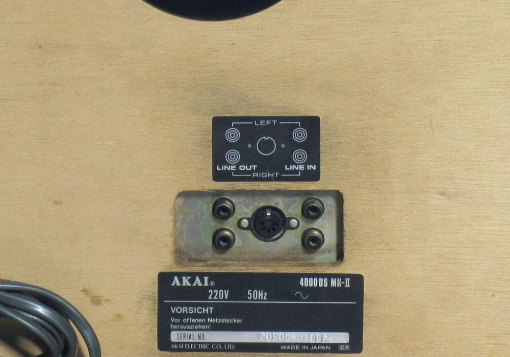 雅佳 AKAI 4000DS Mk-II 开盘机