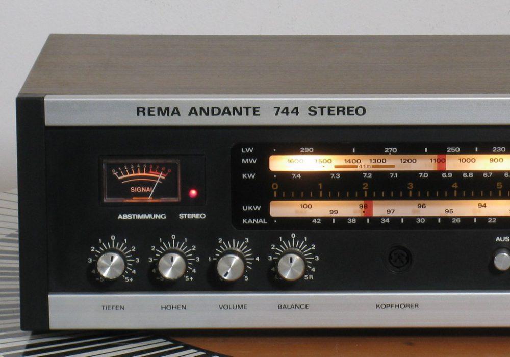 Rema Andante 744 收扩机