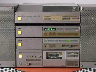 雅马哈 YAMAHA AX-55 + KX-55 + PX-55 + TX-55 + NS-33 组合音响