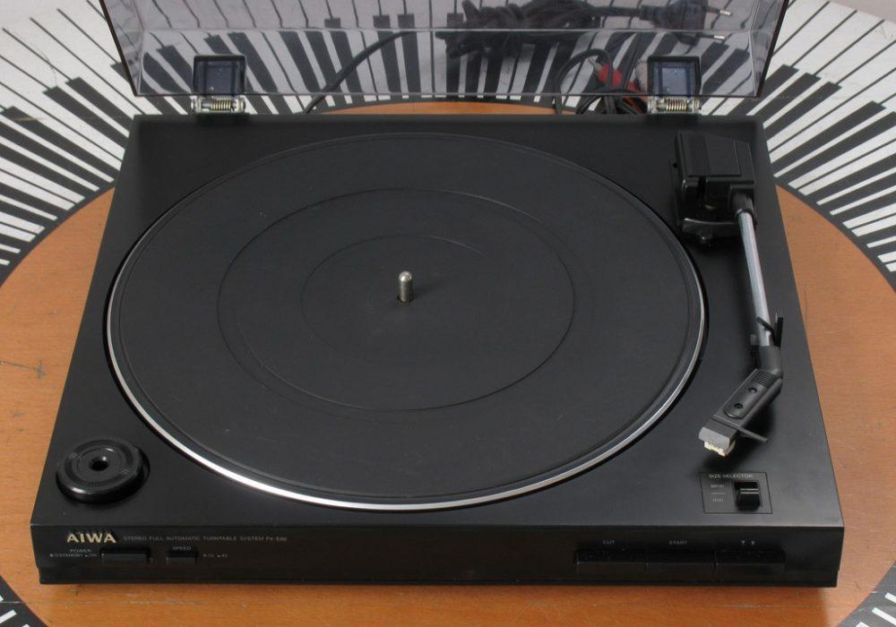 爱华 AIWA PX-E80 黑胶唱机