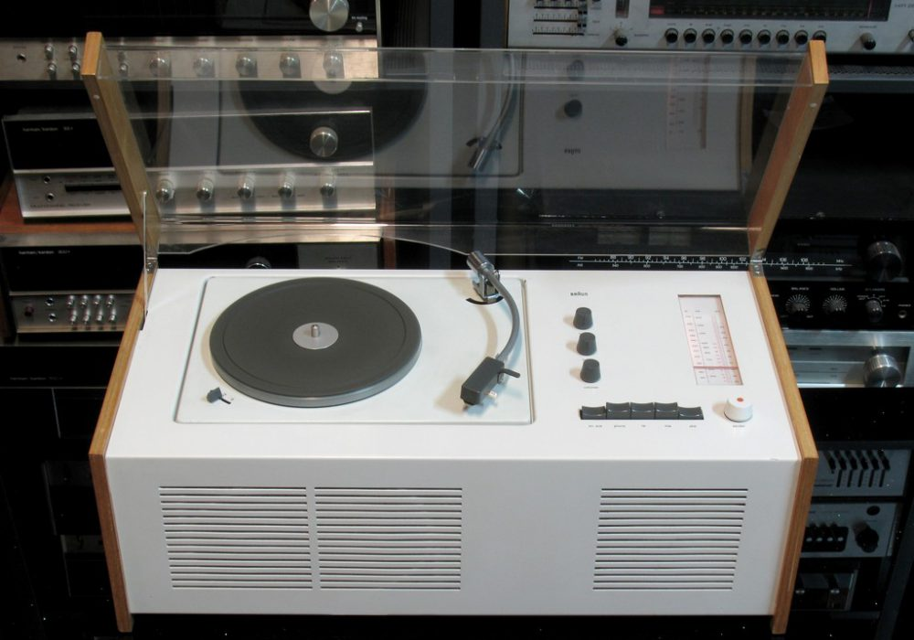 BRAUN SK55 黑胶/收音 一体机