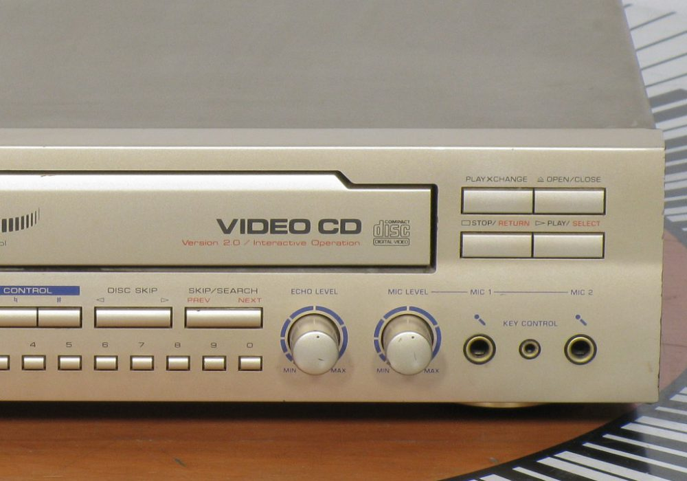 雅马哈 YAMAHA VCD-100K VCD播放机