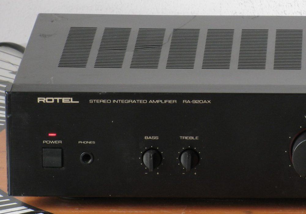 ROTEL RA-920AX 功率放大器