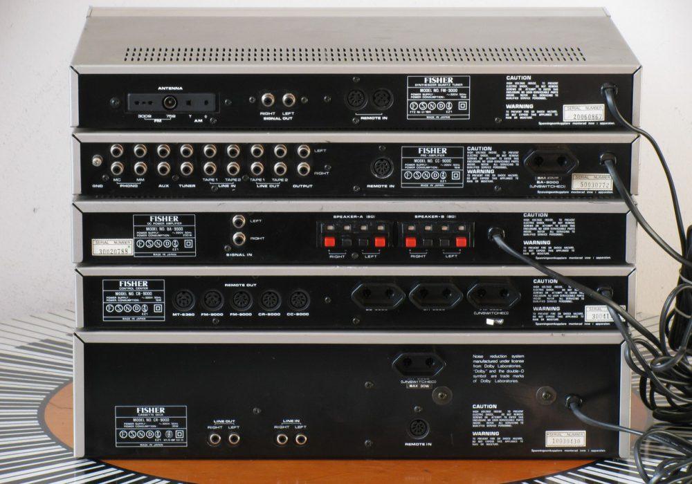 Fisher BA + CB + CC + CR + FM + REM-9000 音响组合