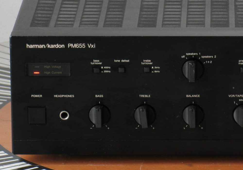 哈曼卡顿 Harman Kardon PM655VXI 功率放大器