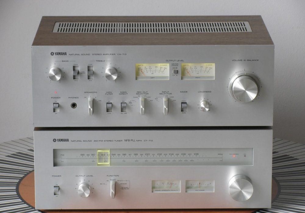 雅马哈 YAMAHA CA-710 功放+ CT-710 收音头